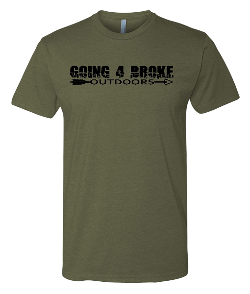 Going 4 Broke Outdoors Logo T-Shirt